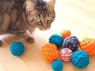 Spielball für Katze oder Hund, Jonglierball, Handarbeit - Koblenz