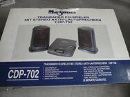 Tragbarer CD-Spieler mit Stereo Aktiv-Lautsprechern CDP-702