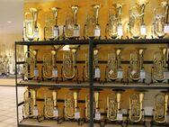 B & S Goldmessing Bariton 3046 G-L, 4 Ventile, Neuware inkl. Koffer und Zubehör - Hagenburg