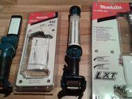 Makita Akku Lampe DML 801 mit LED oder DML 184 mit NEON besser so angenehmer für die Augen - neu - - Erfurt