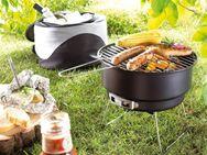 Holzkohlengrill zum mitnehmen. Portabler Grill für Camping. - Alsdorf (Nordrhein-Westfalen)