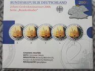 2 Euro Gedenkmünzen 2006 Serie Schleswig Holstein - Kassel Brasselsberg