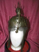 Antiker Kulah Khud um 1750- 1800 / Persischer Prunkhelm / Persian Helmet