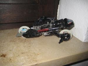 LEGO Technic 8512, ONXY Roborider, Originalverpackung, Originalbauanleitung, TOP-Zustand - Unterleinleiter