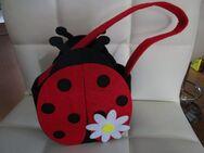 Ostern Tasche Marienkäfer mit Blume - Weichs
