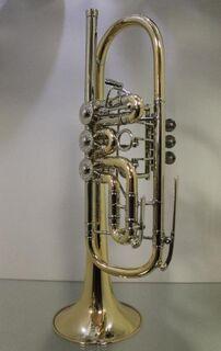 J. Scherzer Profi - Konzert -Trompete in C, Mod. 8217WGT-L mit Doppeltrigger - Hagenburg