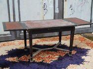 Jugendstil Esstisch in Weichholz / ausziehbarer Tisch aus der Zeit um 1917 - Zeuthen