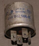 Hella 4RA002566-15 12V  Relais 4RA 002 566-15 Oldtimer