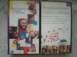 Pavarotti & friends Meat Loaf Zucchero Elton John Eric Clapton Sting Andrea Bocelli Bryan Adams etc. 4 VHS Videos Videokassetten zus. 9,-