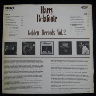 Harry Belafonte - Golden Records Vol.2 (LP) - Niddatal Zentrum