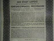 039 Auslosungsschein Leipzig 1930 25,00 Reichs Mark, selten, Rar - Lüdenscheid