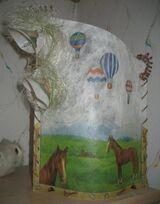 Für Pferde-Fans: Lampe, Memobord, Briefpapier, etc.