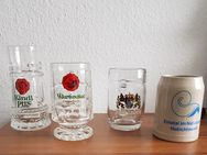 Bierkrüge Preis ist pro Stück. 0,4 und 0,5 L - Kassel Brasselsberg