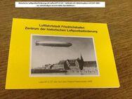 Historische Luftpostbeförderung 1991- Erste Flugzeugausstellung - Mahlberg