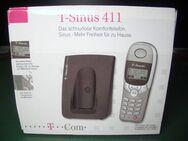 Telekom - T-Sinus 411 - Basis und Mobilteil - Freisprechen - silber/schwarz - Oberhaching