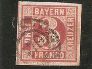 AD-Bayern 3 Kreuzer 1862,MI:DE 9,  Lot 637