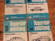 Diverse Reparaturanleitungen Audi VW Mercedes gut bis sehr gut erhalten. 2 x Motorrad - Berlin