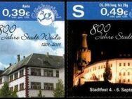 """Citykurier: MiNr. 23 - 24, 01.05.2009, """"800 Jahre Stadt Weida"""", Satz, postfrisch - Brandenburg (Havel)"""