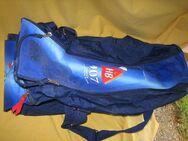 HB 907 Zigarettenmarke dunkelblaue Sport-/Reisetasche neuwertig; Werbeartikel - Bad Belzig Zentrum