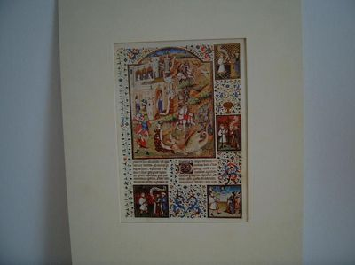 "Faksimile ""Glanz des Rittertums"" Buchmalerei - Zell (Fichtelgebirge)"
