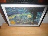 Bild  Vincent van Gogh   mit Glas und Rahmen - Neunkirchen Zentrum