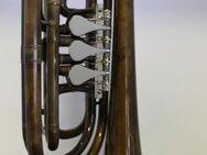 Melton 129 V Basstrompete in Bb, Vintage - Sonderanfertigung - Hagenburg