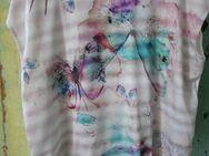 Damen T-Shirt mit runden Ausschnitt (Gr. XXL) Schmetterlinge - Weichs