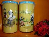 Bautzner KinderSenfglas Sammelglas Shaun das Schaf - Picknick