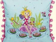 Flauschiges Prinzessin Lillifeekissen mit Bommeln - ein schönes Deko für jedes Prinzessinnen Bett - Neuenkirchen (Nordrhein-Westfalen)