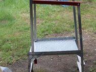 Jobrezer Kleingerüst, klappbare Arbeits-Plattform mit Geländer; Arbeitssicherheit - Bad Belzig
