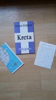 Polyglott Reiseführer - KRETA. Broschierte TB-Ausgabe v. 1973. - Rosenheim