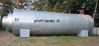 S1 gebrauchter 40.000 L Palmoeltank Stahltank isoliert Heizspirale Pflanzenoeltank Futtermitteltank - Nordhorn