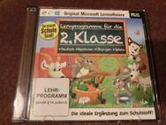 Lernsoftware 2.Klasse /PC CD-ROM / Deutsch,Rechnen,Übungen,Spiele - Duisburg
