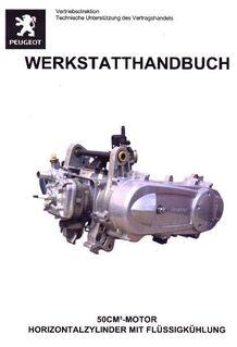 Werkstatthandbuch Peugeot 50 cm³ Motor Jet Force - Bochum Hordel