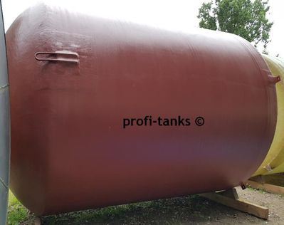 P59 gebrauchter 25.000 L Polyestertank GFK-Tank Erka-Tank Lagerbehälter Wassertank Molketank Futtermitteltank Soletank - Nordhorn