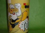 Bautzner Kindersenf  Donald Duck Fussball Sammelglas - Görlitz
