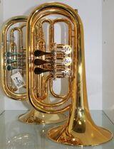 Melton Profiklasse Basstrompete in Bb, Mod. 129GL, Neuware inkl. Tasche