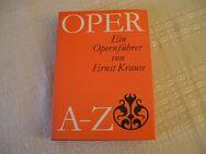 Buch - Opernführer von A-Z- von Ernst Krause, DDR/ VEB Deutscher Verlag f. Musik Leipzig - Leipzig Ost