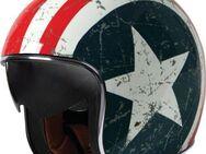 Classic Jethelm Chopper Roller Custombike US-Flag stars & stripes - Eschershausen