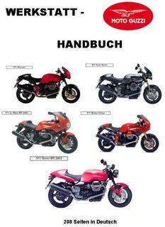 Werkstatthandbuch Moto Guzzi V 11 in deutsch ! - Bochum Hordel