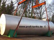 W2+W3 Wärmespeichertank 40.000 L Buffertank Pufferspeicher Stahltank isoliert verkleidet