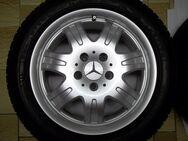 gepflegte SLK Mercedes Benz 7 Speichen Leichtschmiedefelgen 16 Zoll ( 7 x 16 ET 34 mm ) - Sickte