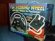 Playstation Gamester Lenkrad mit Pedalen Originalverpackt