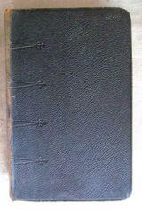Die Heilige Schrift | Ausgabe 1905 | Ledereinband | Taschenausgabe