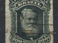 Brasilien 200 Reis 1879 Don Pedro II.,Mi:BR 43,Lot 1261 - Reinheim