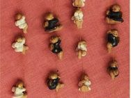 4 Engel-Ketten aus Keramik - tolle Weihnachts-Deko - Groß Gerau