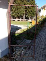 Metall-Rohr-Rahmen, 185 x 86,5 cm (geplanter Windfang)
