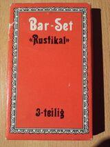 3 Teiliges Bar Set - Rustikal