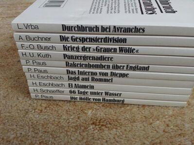 Taschenbücher Sammelband vom Krieg - Kassel Brasselsberg