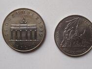 10 und 20 Mark Münze DDR - Augsburg